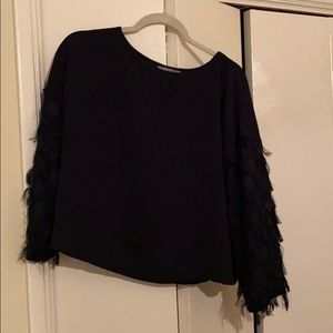 flowy party blouse